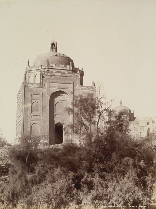 Drakhan, Shikarpur District, Sindh. Thahim Tombs